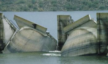 Old Waddell Dam